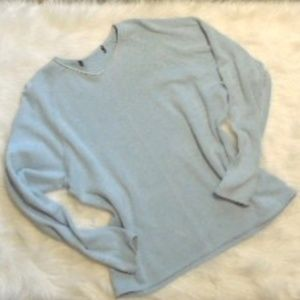 J.Crew Light Blue Pullover Sweatshirt M/L